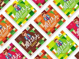 跳跳糖巧克力包装