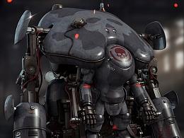 Fan Art: Maschinen Krieger