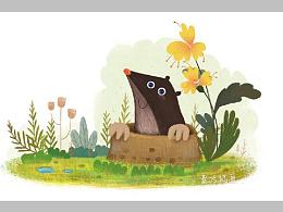 儿童图书插图