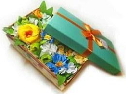 手工纸花礼盒