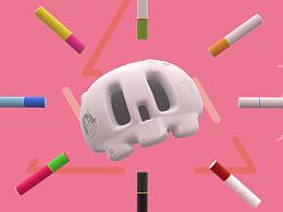 【三维动画】吸烟打劫生命