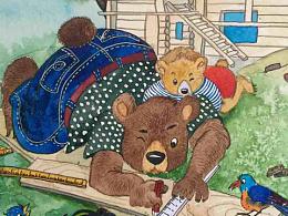 盖房子的熊阿爸