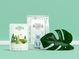 「 TRUE LOVE猫粮品牌」金质营养 · 承载全方位的呵护 
