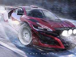 讴歌丨NSX RallySpec