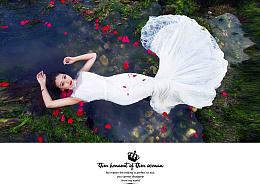 婚纱画册排版