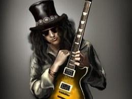 吉他手slash【鼠绘】