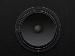 画一个扬声器ICON,练习中!~