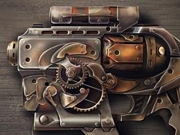 写实蒸汽枪