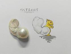 代波军艺术珠宝定制-异形珍珠-松鼠君Pearl