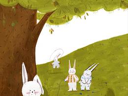 《你好棒》 去年深秋的兔子稿