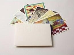 INMYSHOES6位风格各异的插画师的明信片合集