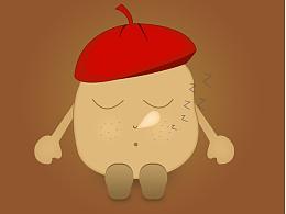 土豆卡通形象