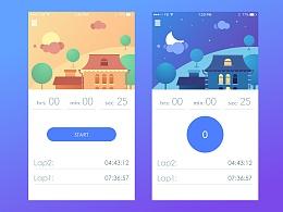 UI临摹-Timer App