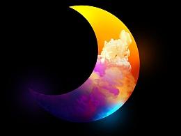 渐变【3】-云开见月