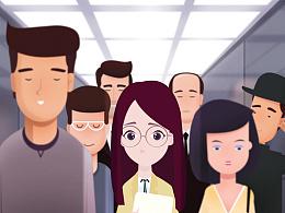 插画风格MG动画广告