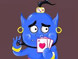 棋牌游戏形象设计。。。