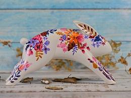 大器小物—手绘系列—奔跑兔