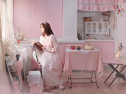 粉色下午茶