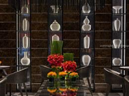 Threeimages/三像摄建筑室内环境摄影四季酒店camelia餐厅第三部