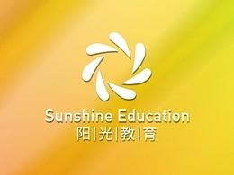 阳光教育LOGO 的三个提案