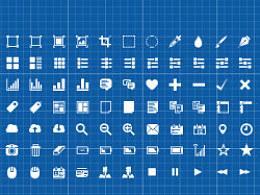 疯狂练icon352个(分三组)分享PSD源文件(临摹)