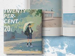 邦乔彦画集《20%》预售。