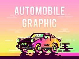 SA9527-Automobile Graphic(附思路分享)