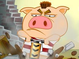 三只小猪的故事~