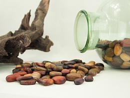 拾一枚温暖的木质鹅卵石