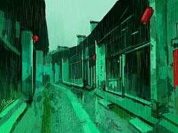 无人的街道