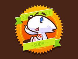 搜狗吉祥物设计—SODA