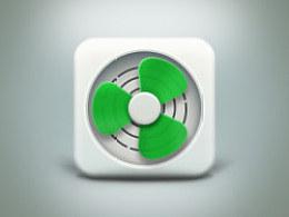 Icon练习-电风扇