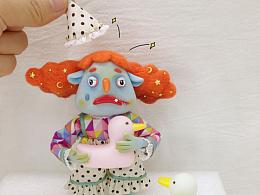 小丑 角色设计 粘土人偶