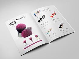 化妆品刷产品画册