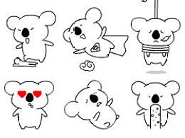 无赖熊表情设计