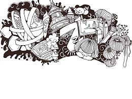 大学时的小画