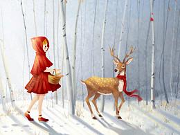 小红帽与麋鹿