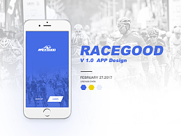 RACEGOOD v1.0 APP Design