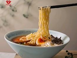 鹿马影像 日本拉面 美食摄影|杭州紫樱花旗下拉面品牌