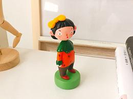 粘土人偶|草莓女孩
