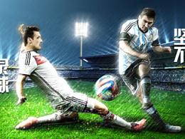 2014世界杯决赛海报(Jeep篇)