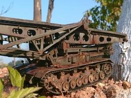 德国IV架桥坦克