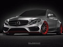 Mercedes Benz C260 改装