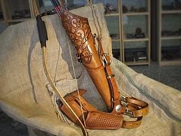 精灵王子&箭壶 / 手工传统风格箭壶