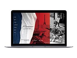 Rivieras品牌网页设计