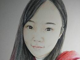 彩铅肖像练习