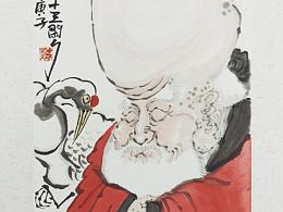 【南记手绘·再添三千寿】