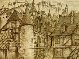 陈年老图之:欧式城堡