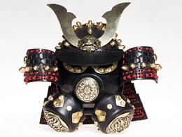 蒸汽朋克武士头盔