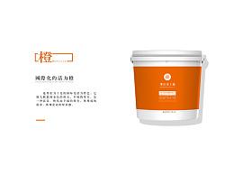 长城协同润滑油包装桶标签